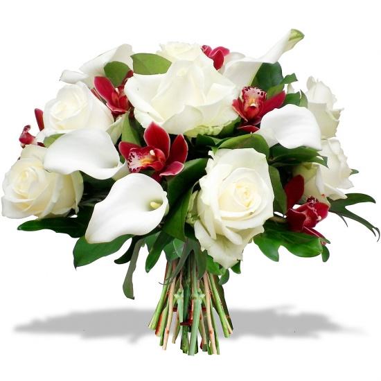 Bouquet Fleurs De Corail